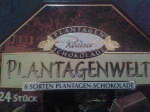Plantagenwelt Rausch Schokolade