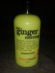 treaclemoon ginger morning duschcreme
